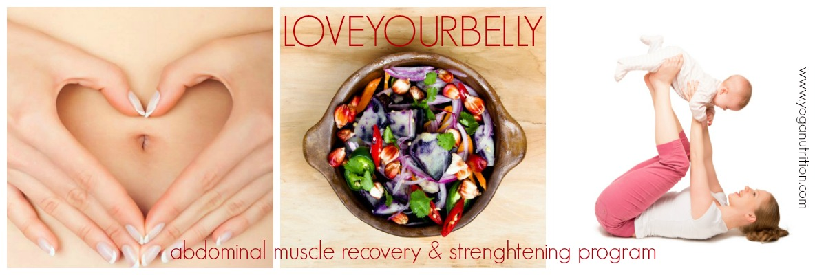 LoveYourBelly - abdominal muscle recovery and strengthening program